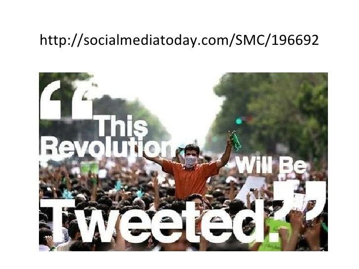 <ul><li>http://socialmediatoday.com/SMC/196692 </li></ul>