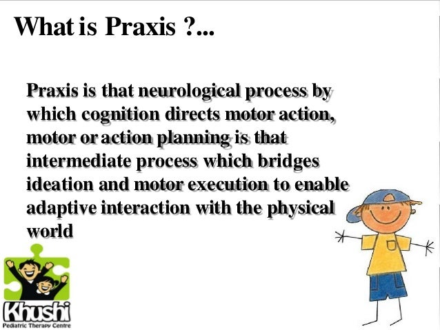 praxis and motor planning by arohi atre