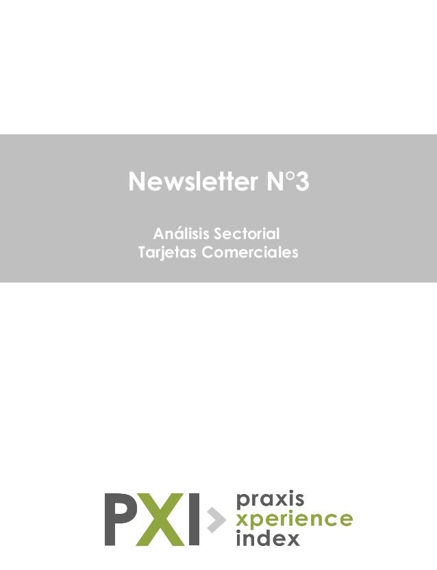 Newsletter N°3 Análisis Sectorial Tarjetas Comerciales