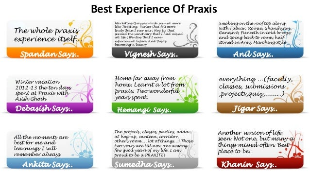 Praxis Yearbook 2011-13