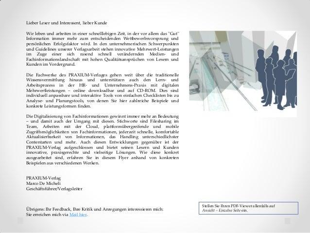 Die Mehrwert-Leistungen des PRAXIUM-Verlages auf einen Blick Slide 2