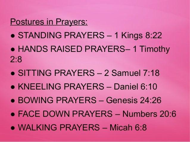 Grade Five Lesson On Prayer