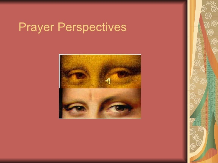 Prayer Perspectives