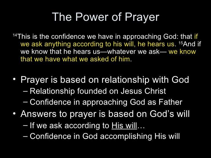 Prayer Sin And God