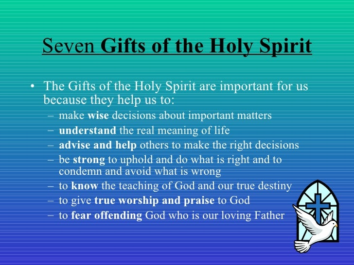 The Seven Gifts of the Holy Spirit and What They Mean