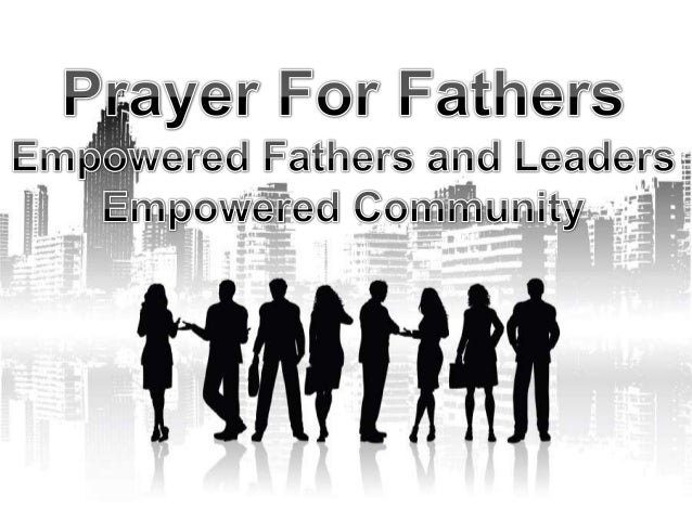 Prayer For Fathers