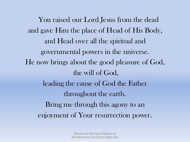You raised our Lord Jesus from the deadand gave Him the place of Head of His Body,      and Head over all the spiritual an...