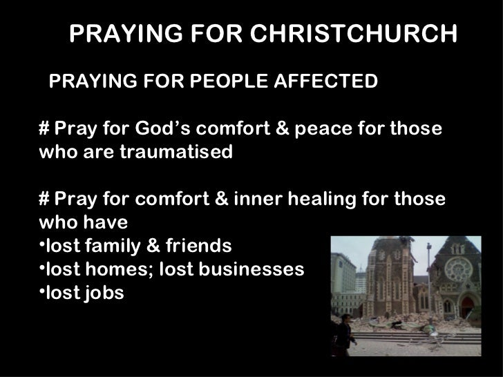 Pray For Christchurch Hd