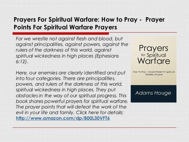 Prayers For Spiritual Warfare: How to Pray - Prayer Points for Spirit…