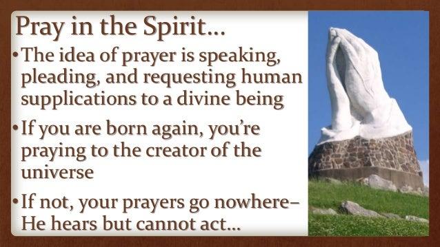 Pray in the Spirit Always