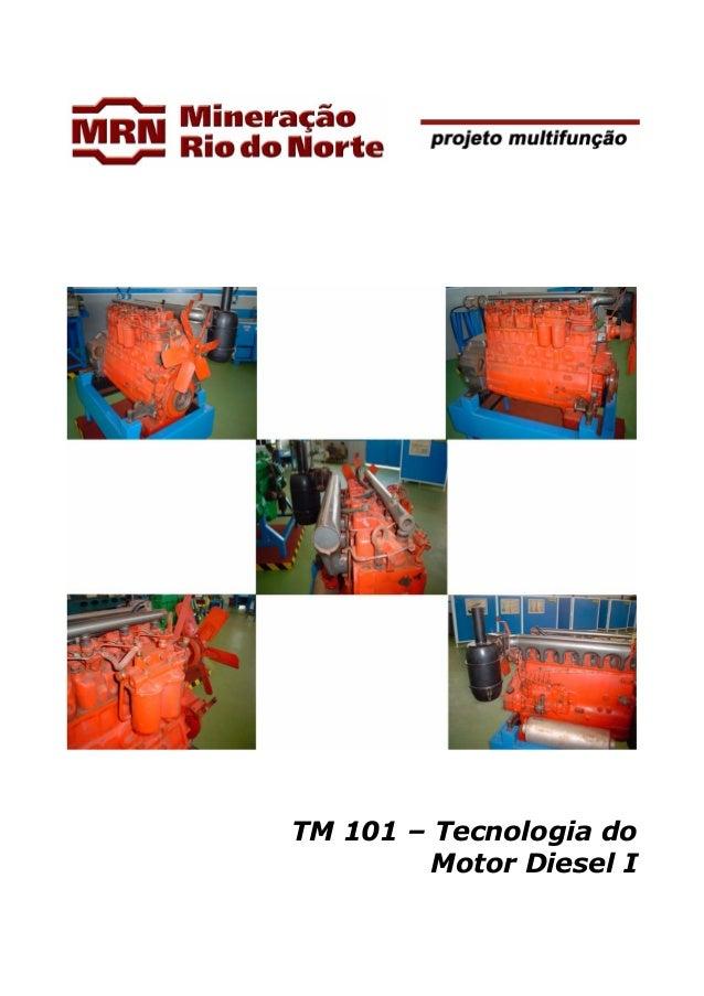 TM 101 – Tecnologia do Motor Diesel I