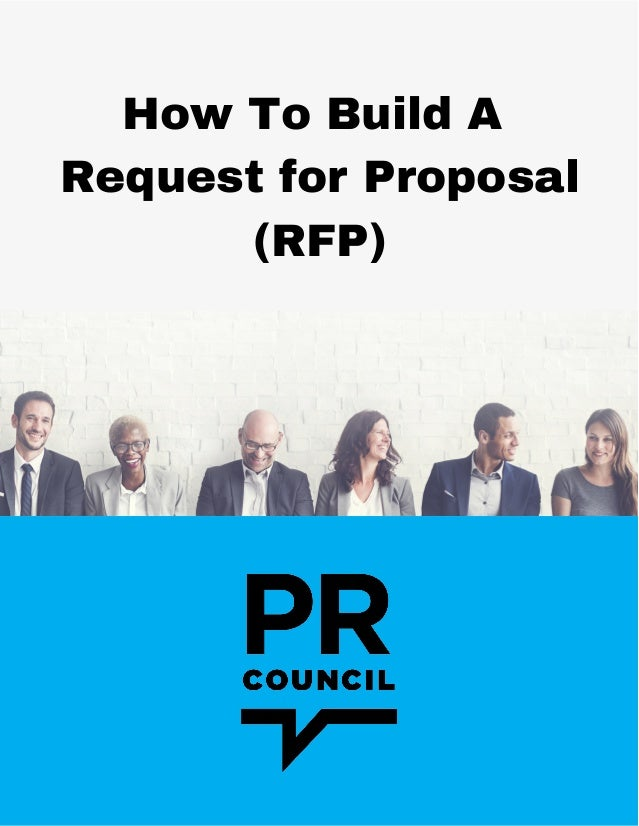 How To Build A  Request for Proposal (RFP)