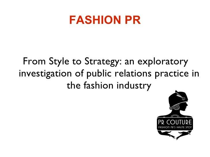 BA (Hons) Fashion Public Relations and Communication - London 48