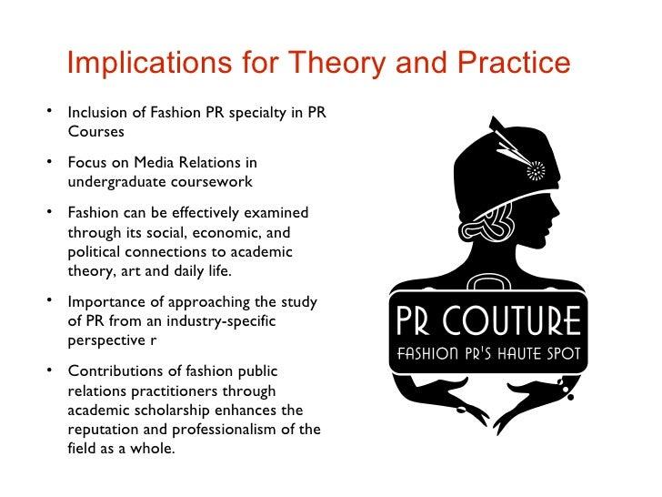 BA (Hons) Fashion Public Relations and Communication - London 1