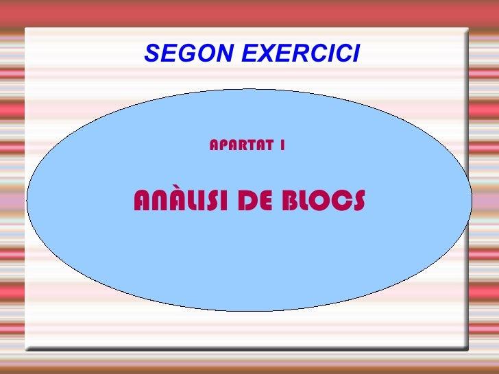 SEGON EXERCICI APARTAT 1