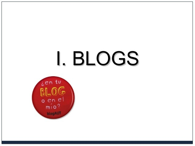 I. BLOGSI. BLOGS
