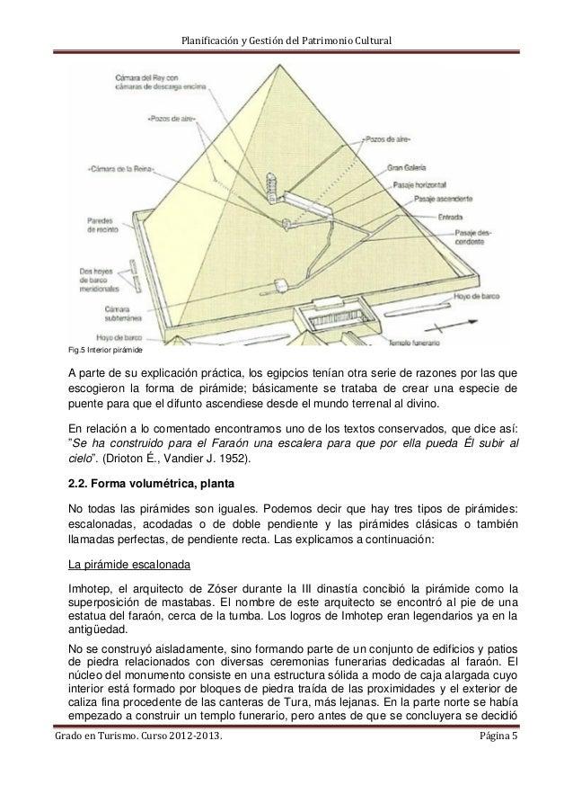 Pr ctica 1 pir mides for Interior de una piramide