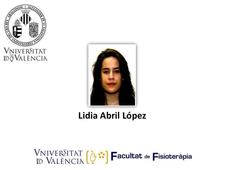Lidia Abril López