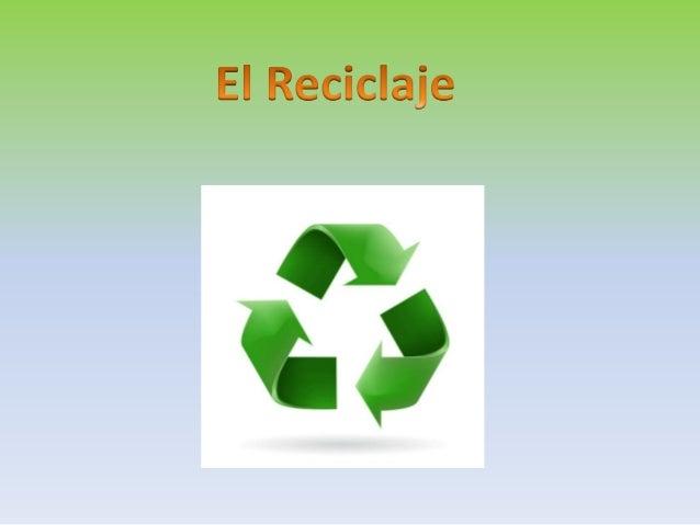 El Reciclaje  4x V.  '9