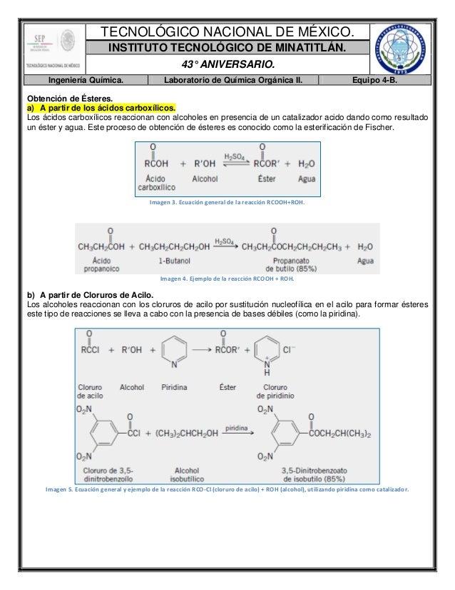 Reporte de Práctica-Síntesis del Benzoato de Metilo.