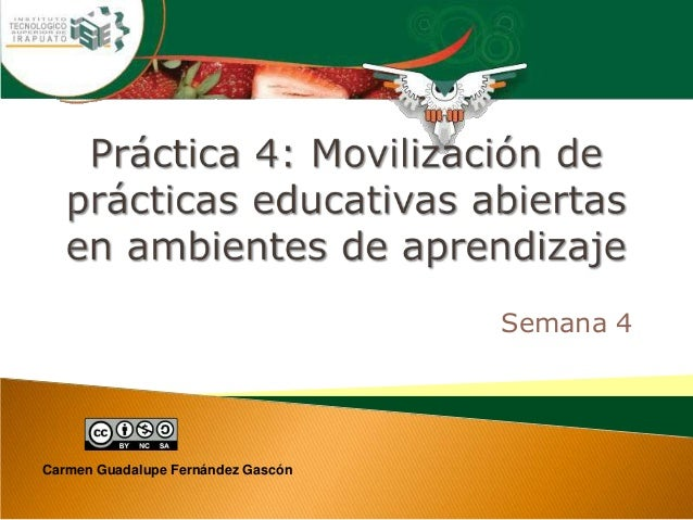 Semana 4 Carmen Guadalupe Fernández Gascón