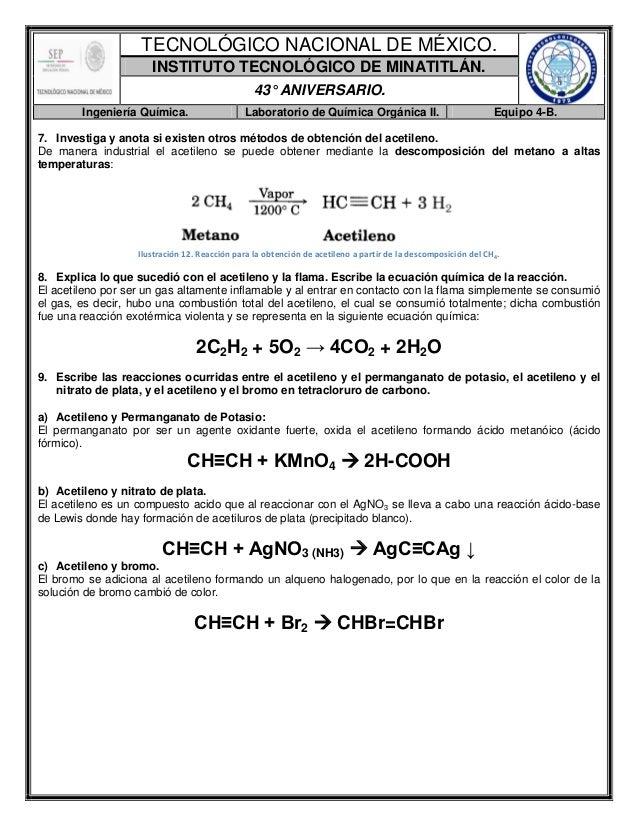 Reporte de Práctica-Obtención y Propiedades del Acetileno.