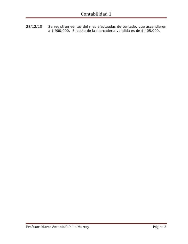 Práctica de contabilidad 1 Slide 2
