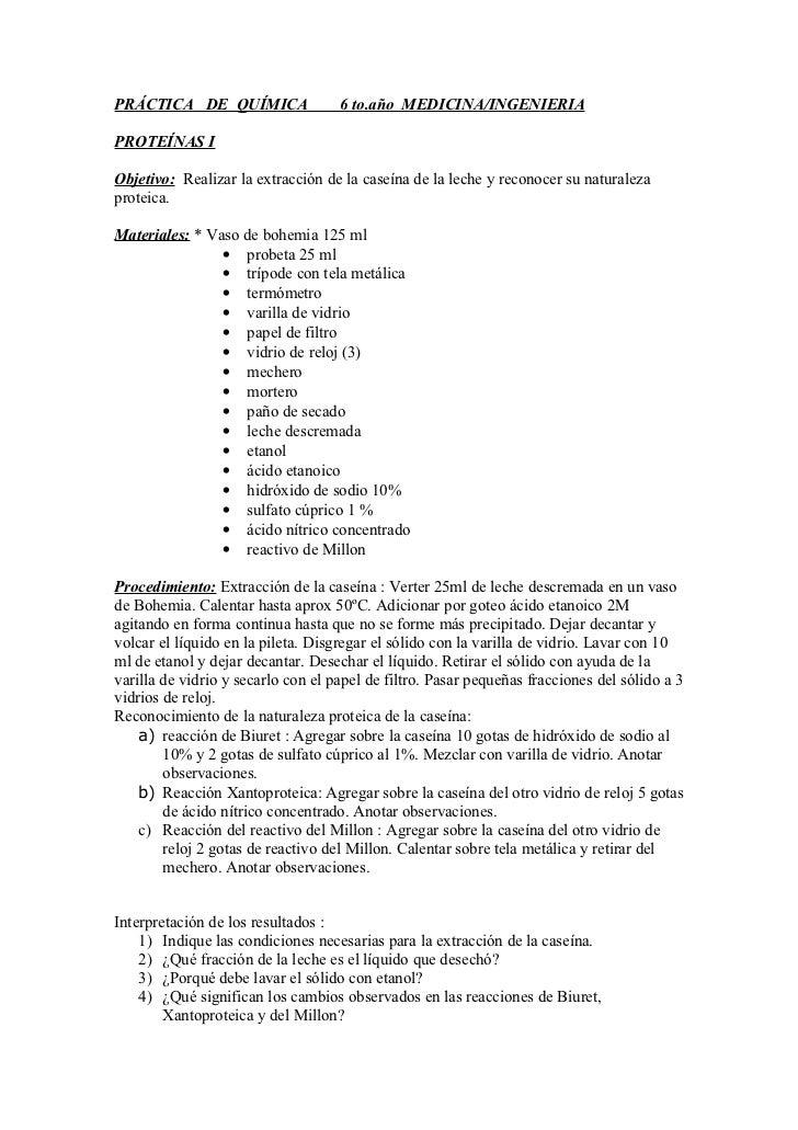 Práctica   de  química  nº1    6 to