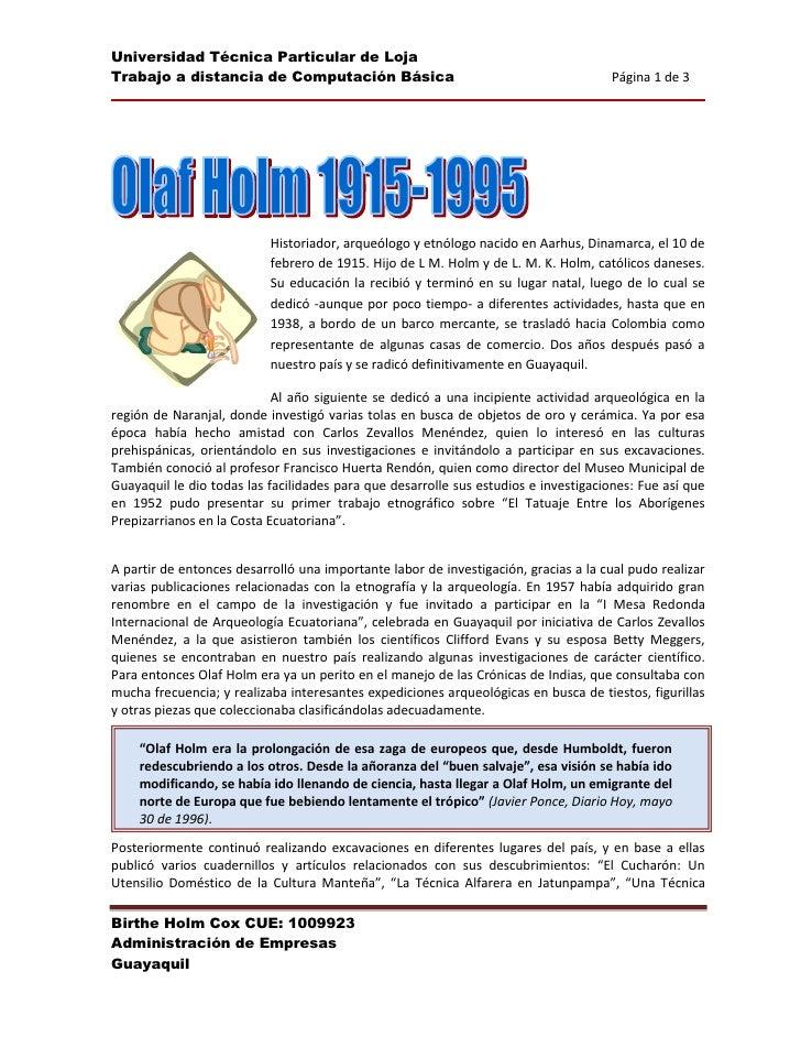32385979805<br />Historiador, arqueólogo y etnólogo nacido en Aarhus, Dinamarca, el 10 de febrero de 1915. Hijo de L M. Ho...