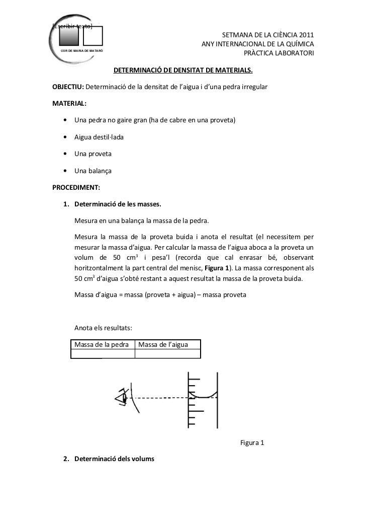[Escribir texto]                                                           SETMANA DE LA CIÈNCIA 2011                     ...