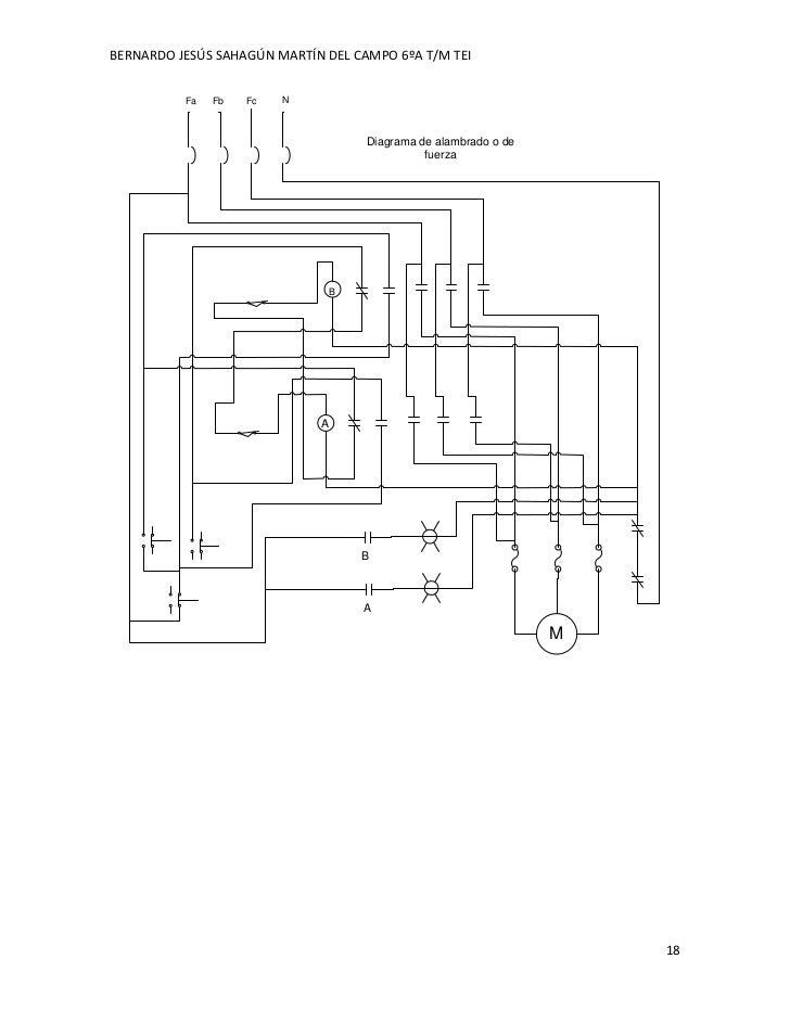 circuitos el u00e9ctricos de control y diagramas fuerza