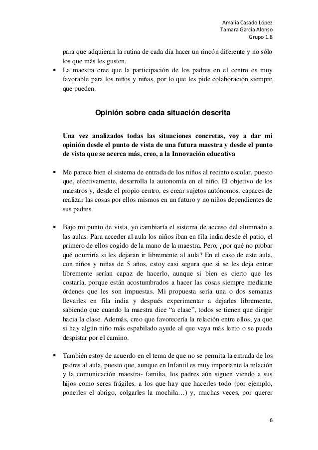 Amalia Casado LópezTamara García AlonsoGrupo 1.86para que adquieran la rutina de cada día hacer un rincón diferente y no s...