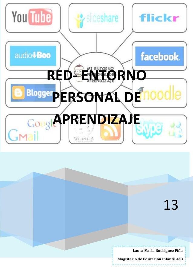 RED- ENTORNO PERSONAL DE APRENDIZAJE  13 Laura María Rodríguez Piña Magisterio de Educación Infantil 4ºB