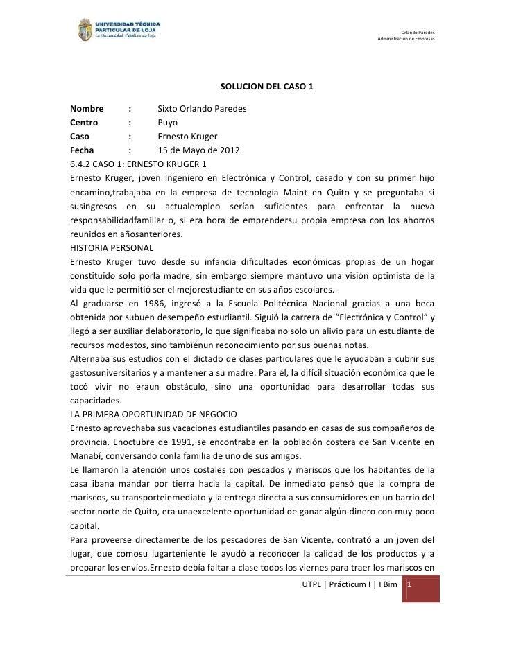 Orlando Paredes                                                                               Administración de Empresas  ...