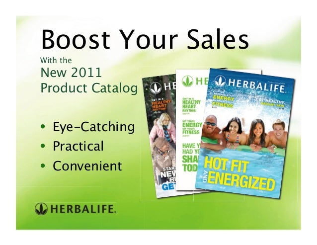 Boost Your Sales• Eye-Catching• Practical• ConvenientWith the New 2011 Product Catalog