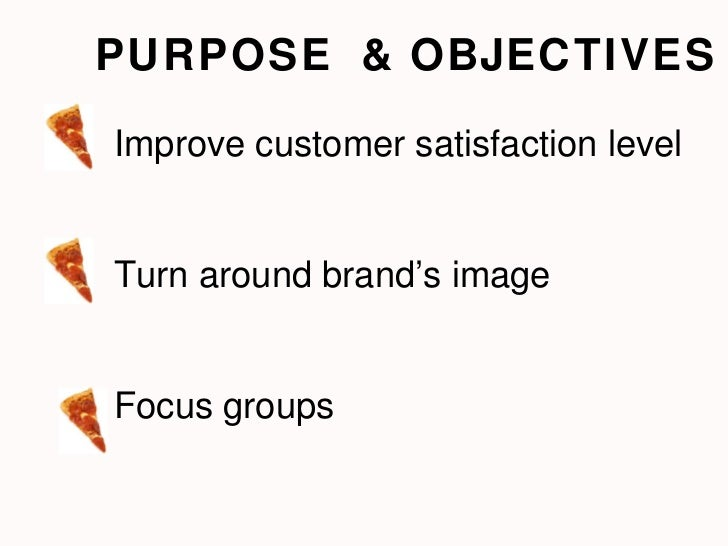 objectives of dominos pizza Domino's pizza group plc 02 anna report acconts 2015 strategic report group at a glance to feed the power of possibleto feed the power of.