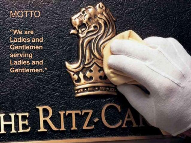 Ritz carlton case study