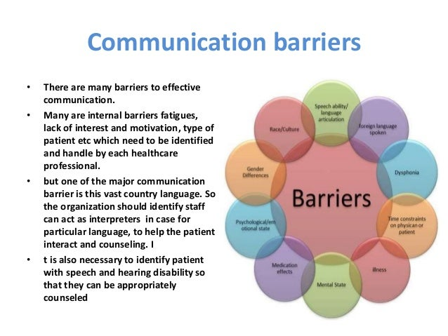 barriers to effective teamwork in health and social care practice Chapter 4: barriers to partnership working health, social care and housing pressures are some of the most commonly cited barriers to effective partnership.