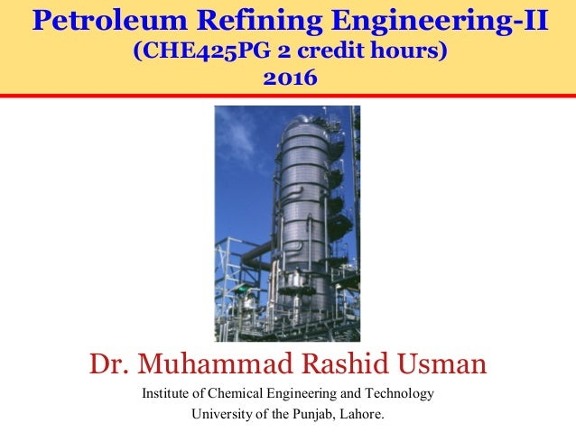 Petroleum Refinery Engineering-Part-2-30-July-2016