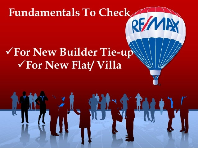 Fundamentals To CheckFor New Builder Tie-upFor New Flat/ Villa