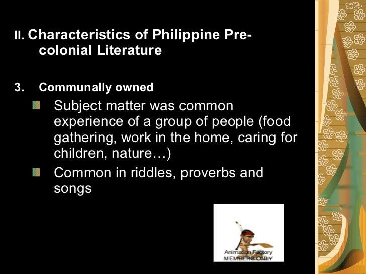 phillipine literary periods Japanese period is our first topic for the final period japanese period has been called one of the darkest days in the history and literary tradition of the philippines the wartime experiences and events of the troubled times left indelible imprints to.