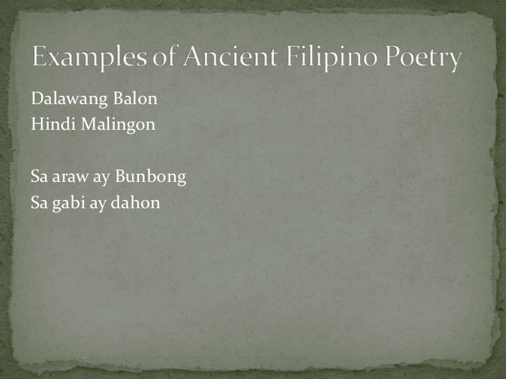 early filipinos oral literature 2 famous legends about the early filipinos: (1) the story of malakas and maganda (2) the story of the brown people 14 historical values: 3 lessons from the past that we can learn: (1) the early filipinos had a culture of their own.