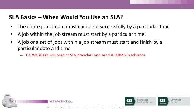 Understanding the Basics of CA Workload Automation iDash