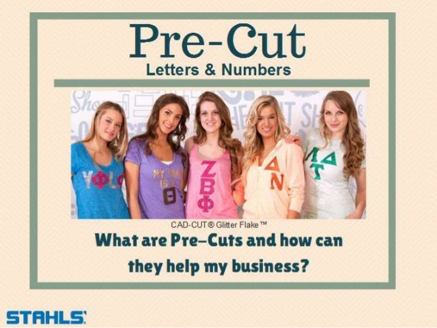 stahls pre cut letters numbers all you need is a heat press