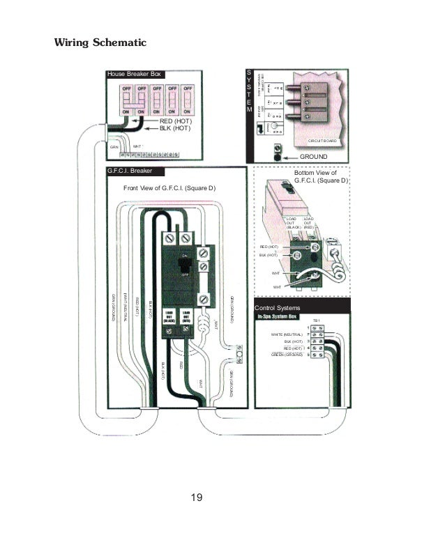 Spa Gfci Breaker Wiring Diagram - Wiring Diagram For Light Switch •