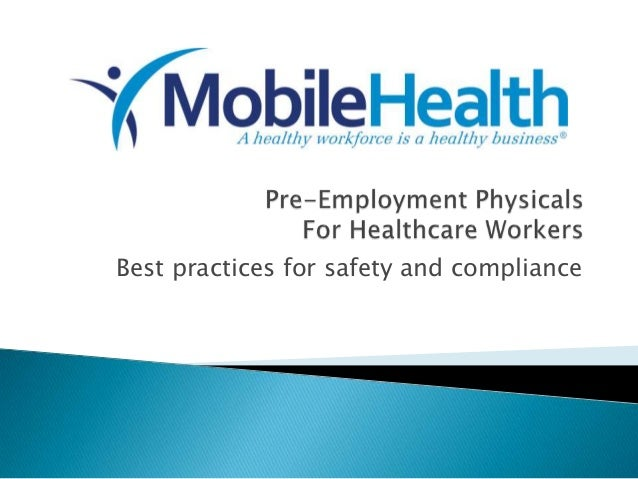 Best practices for safety and compliance