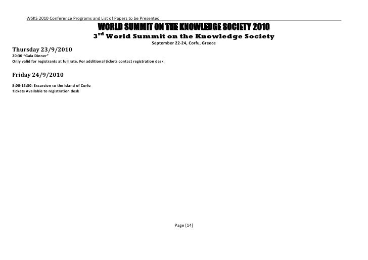 Pre final-wsks-2010-program