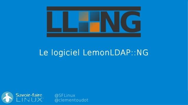 @SFLinux @clementoudot Le logiciel LemonLDAP::NG