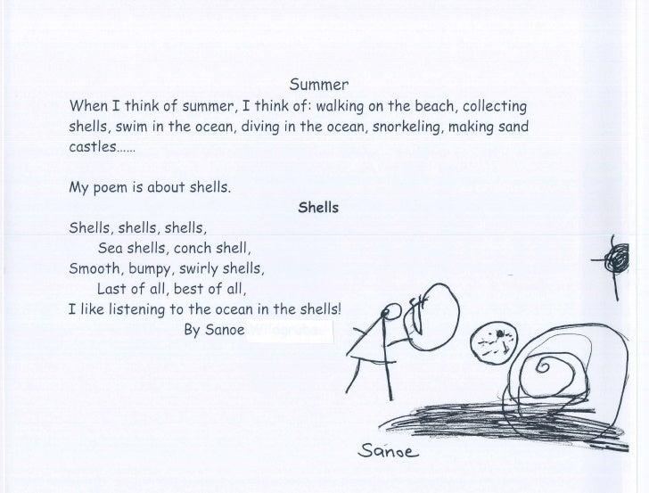 Pre K Poems May 2010
