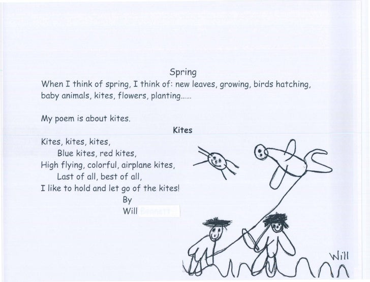 Pre K Poems May 2010